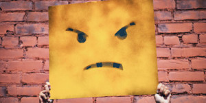 Wütender Smiley. Andre Hunter / unsplash.com
