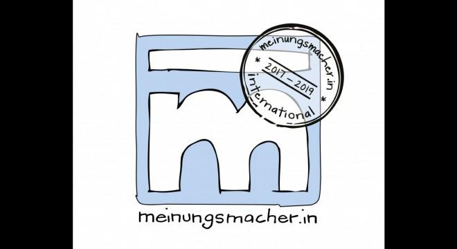 Logo Meinungsmacherin