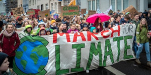Fridays for Future. Foto: Mika Baumeister/unsplash.com